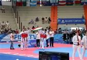 یونیورسیاد 2019 ایتالیا| تشویق بی امان تیم تکواندوی ایران در فینال/ قدردانی شاگردان از استاد+تصاویر