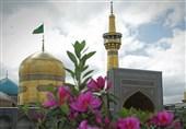 قبة الامام الرضا علیه السلام ؛ الإطار المشترک لجمیع عدسات الکامیرات