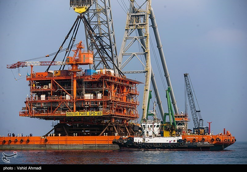 Last Platform Installed in Iran's South Pars Phase 14