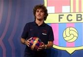 فوتبال جهان| گریزمان: بازی در کنار مسی لذتی باور نکردنی است/ میخواهم تمام جامها را با بارسلونا کسب کنم