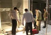 تهران| سقوط کابین آسانسور روی سرویسکار + تصاویر