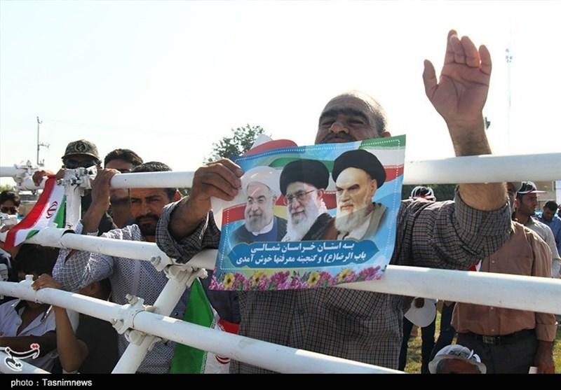 ورود رئیسجمهور به استان خراسانشمالی بهروایت تصاویر