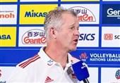 هاینن: تیم بسیار جوان و بیتجربهای در اختیار دارم/ تیم والیبال روسیه، شایسته پیروزی بود