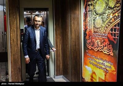 حضور شهرام آدمنژاد معاون حمل و نقل وزیر راه و شهرسازی در خبرگزاری تسنیم