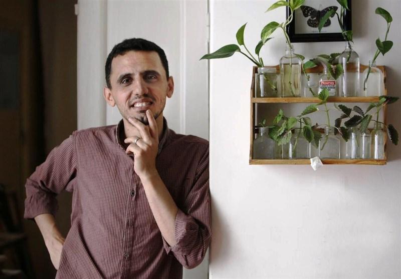 نقاشی جدید حسن روح الأمین در ستایش پیامبر اکرم(ص) + عکس