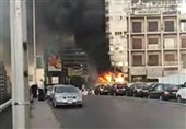 آتشسوزی در بلندترین ساختمان تجاری دمشق