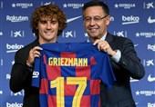 فوتبال جهان| اتلتیکومادرید در مورد رقم انتقال گریزمان از بارسلونا شکایت کرد/ موافقت با رسیدگی به شکایت روخیبلانکو