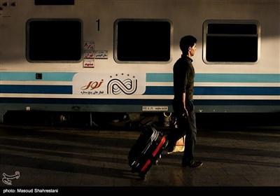 بدرقه کاروان رضوی با قطار نور الرضا(ع)