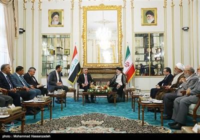 آية الله رئيسي يستقبل رئيس مجلس القضاء الأعلى العراقي