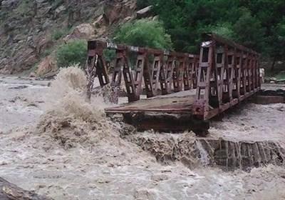 خسارت 90 درصدی به آبنماها و پلهای محور رودبار ایرانشهر