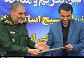 مراسم تودیع و معارفه مسئول بسیج اساتید خوزستان به روایت تصویر