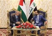 تاکید رئیس پارلمان عراق بر تشکیل دولت فلسطین به پایتختی قدس