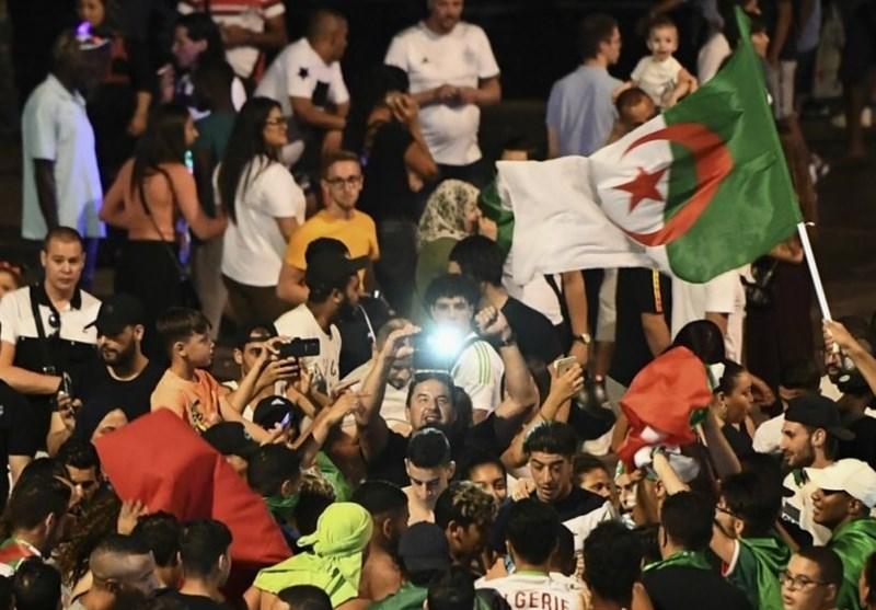 فوتبال جهان|جشن صعود الجزایر به فینال جام ملتهای آفریقا باعث دستگیری 282 نفر شد