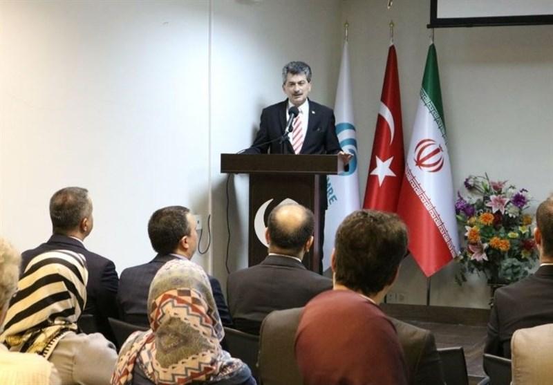 سفیر ترکیه در مراسم گرامیداشت 15 جولای: ایران ماجرای کودتا را از نزدیک پیگیری میکرد