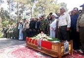 پیکر امیر ترکان در اصفهان تشییع و به خاک سپرده شد