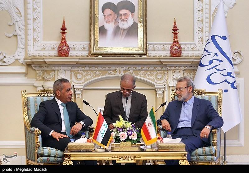 Iran, Iraq Inseparable: Speaker Larijani