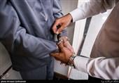 تهران| شرور سابقهدار با چاقو به جان پلیس افتاد + عکس
