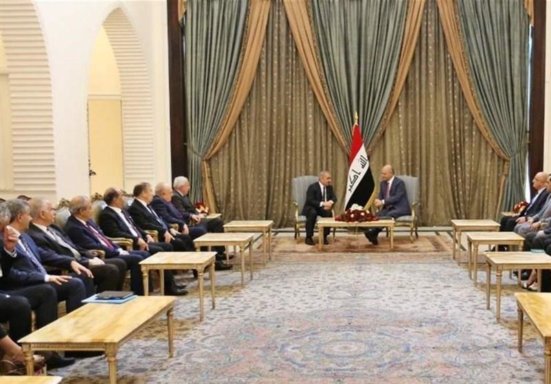 جزئیات دیدار نخستوزیر تشکیلات خودگردان فلسطین با برهم صالح