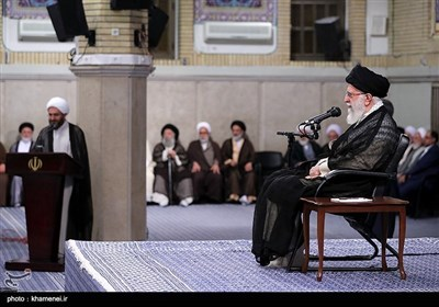 امام خامنہ ای سے ملک بھر کے ائمہ جمعہ کی ملاقات