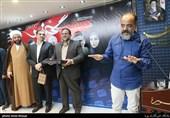سخنرانی جواد افشار در حاشیه مراسم تقدیر از عوامل سریال گاندو در خبرگزاری تسنیم