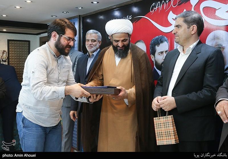 تقدیر از مجتبی امینی تهیه کننده سریال گاندو در خبرگزاری تسنیم