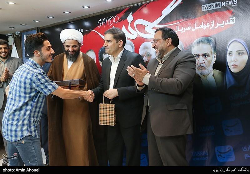 تقدیر از علی افشار بازیگر نقش داوود در سریال گاندو