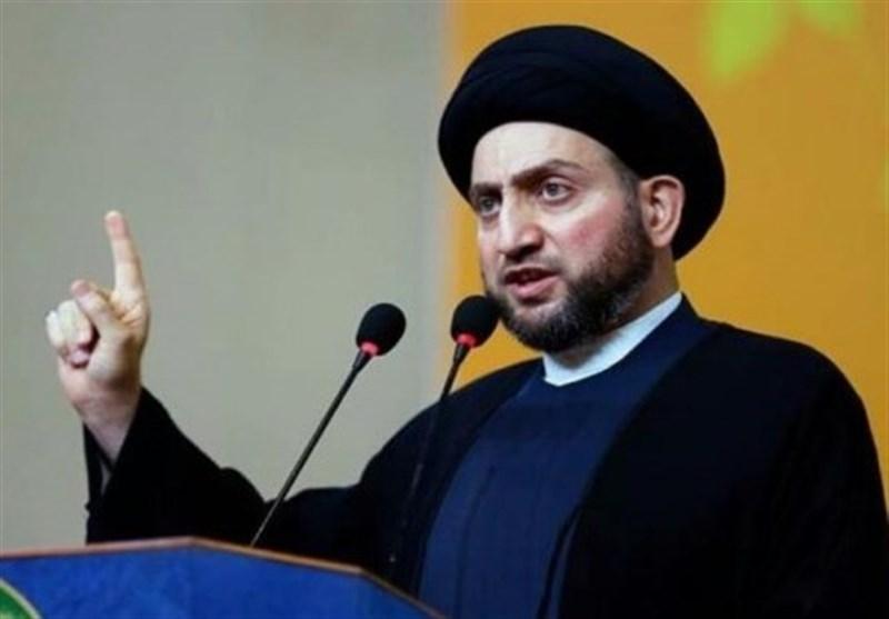 عراق|تاکید حکیم بر تبعیت از مرجعیت/ هشدار به سفیر آمریکا در بغداد+عکس