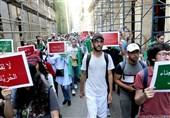 ادامه تظاهرات دانشجویان الجزایری برای کنارهگیری ارکان نظام سابق