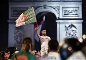 فوتبال جهان| مقام فرانسوی: شانزهلیزه را در روز بازی الجزایر نمیبندیم
