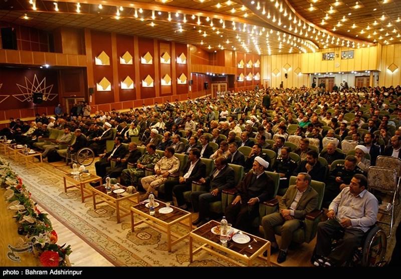 مجمع بسیجیان استان اردبیل با حضور رئیس سازمان بسیج به روایت تصویر