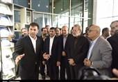 رئیس مجلس از یک واحد صنعتی در استان البرز بازدید کرد + تصاویر