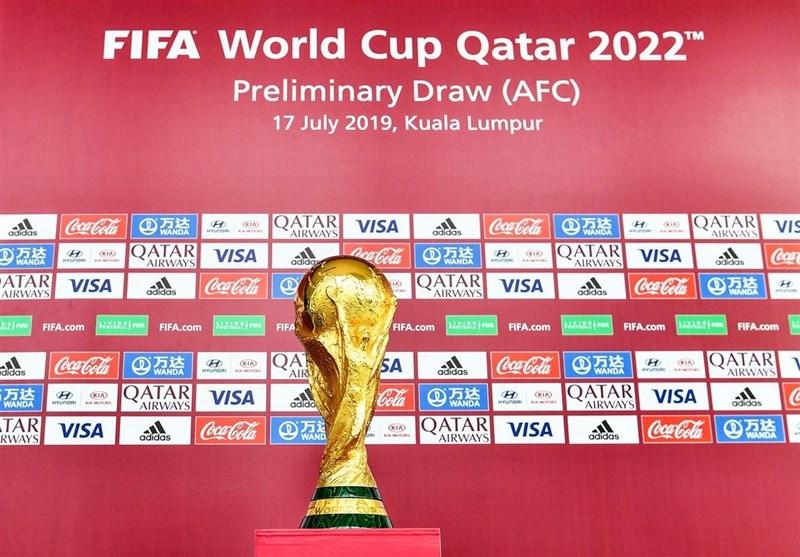 برگزاری مراسم قرعهکشی مرحله دوم انتخابی جام جهانی 2022/ ایران باز هم با عراق همگروه شد + عکس