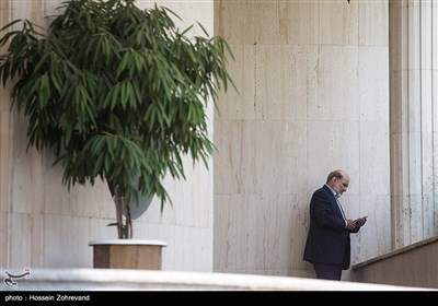 عبدالعلی علیعسگری در حاشیه جلسه هیئت دولت
