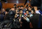 علیرضا دبیر در جمع خبرنگاران