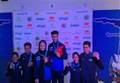 تیراندازی جام جهانی جوانان| تیم میکس تفنگ ایران طلایی شد