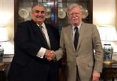 """جزئیات دیدار وزیر خارجه بحرین با """"بولتون"""" و سناتور آمریکایی/تکرار اتهامات علیه ایران"""