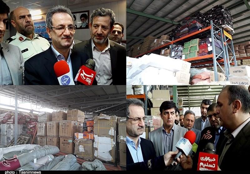 وضعیت انبار تملیکی استان تهران از دریچه دوربین تسنیم؛ کالاهای قاچاق پس از توقیف چه میشوند؟ + فیلم