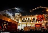 """چرا برای اطفای آتشسوزی میدان حسنآباد از """"کف"""" استفاده نشد؟!"""