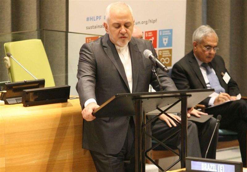 امریکا نے ایران کے خلاف اقتصادی جنگ شروع کی ہے: جواد ظریف