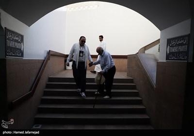 زیارت دوره زائران ایرانی در مسجد ذوقبلتین مدینه