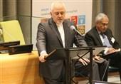 کلمة ظریف فی اجتماع المجلس الاقتصادی -الاجتماعی لمنظمة الامم المتحدة فی نیویورک