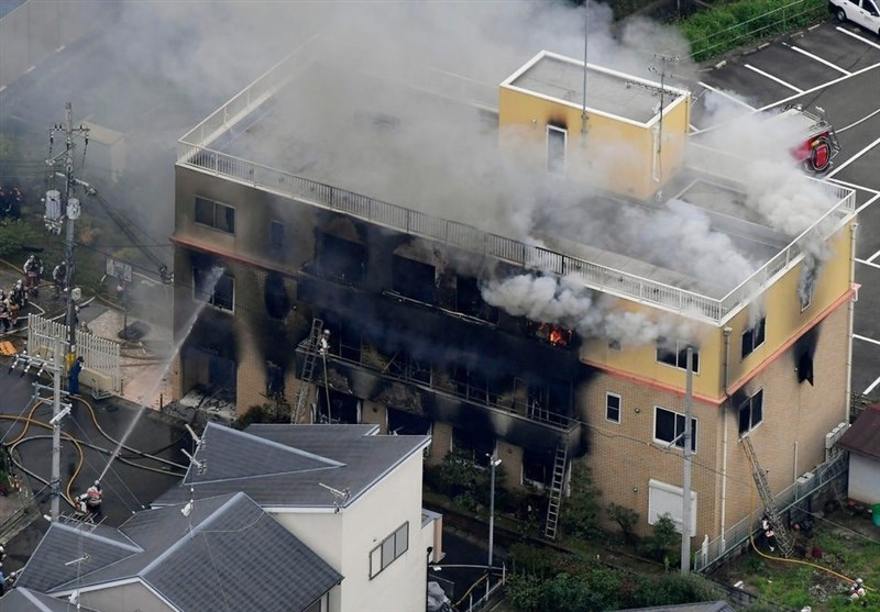 Over 20 Killed in Suspected Arson at Japan Animation Studio (+Video)