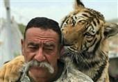 توضیحات مصدوم حادثه حمله شیر در قزوین + فیلم