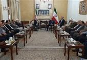 عبد اللهیان إلتقى وفدًا من لجنة دعم المقاومة فی فلسطین