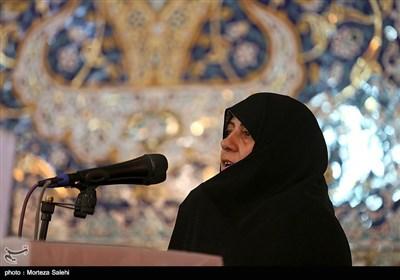 اجتماع دختران انقلاب با حضور خانوادههای شهدا و مینا علینژاد روز پنجشنبه ۲۷ تیرماه در اصفهان