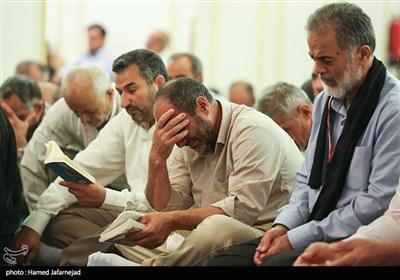 مراسم پرفیض دعای ندبه در مدینه منوره