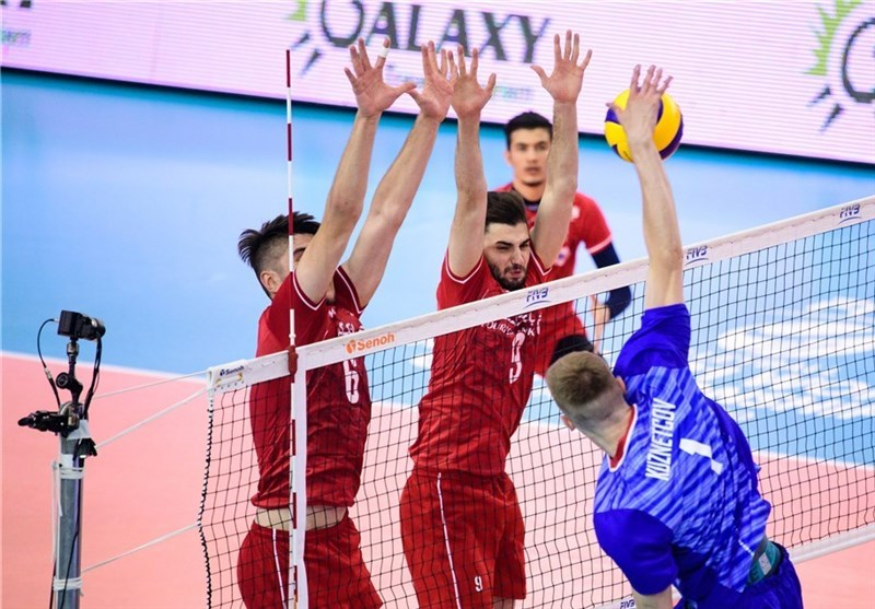 Iran Loses to Russia at Volleyball Men's U-21 World Championship