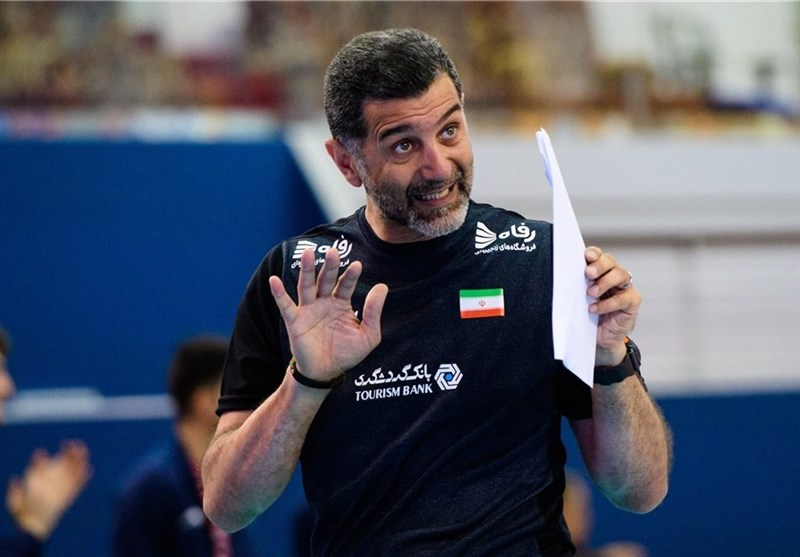 We Want to Win Medal at World Championship, Iran U-21 Volleyball Coach Says