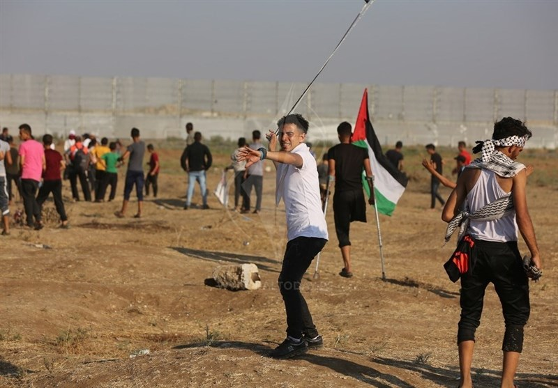 آمادگی فلسطینیان برای راهپیمایی برای هفتاد و نهمین راهپیمایی بازگشت