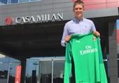 فوتبال جهان میلان پدیده دروازهبانی دانمارک را به خدمت گرفت
